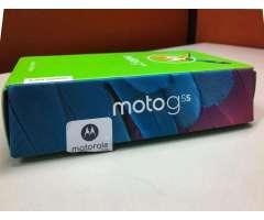 Celular Nuevo  Motorola Moto G5s 32 GB Lector Huella Camaras 16Mpx 5Mpx Dual flash