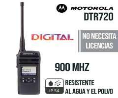 Motorola DTR 720 Radio Digital IP54 Resiste Agua 50 Canales