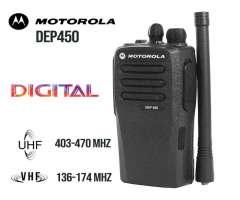 DEP450 Radio Teléfono Portátil Dual Digital Motorola UHF VHF