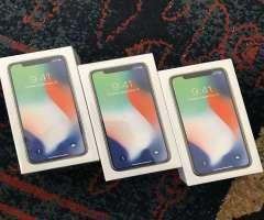 iPhone X - 64GB SILVER - CLEAN IMEI SELLADOS