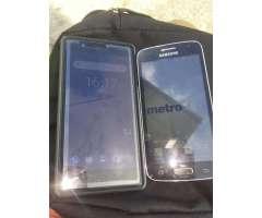 Celular a La Venta El Nokia 3 Y Sansumg