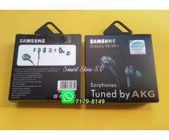 Earphones Samsung By AKG, Pide los Tuyos, Modelo Lanzado con los Galaxy S9 y Note 8, Compatible...