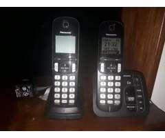 Telefono Panasonic Duo con Contestador