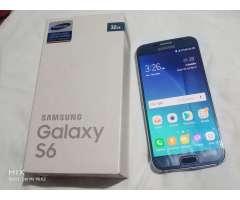 Samsung Galaxy S6 32gb Azul Perfecto