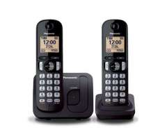 Teléfono Inalambrico Panasonic Doble Kx-tgb212 2 Bases