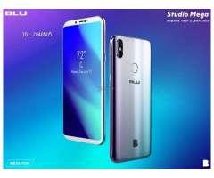 BLU STUDIO MEGA 2018, Con Sensor de Huella!!
