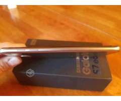 Samsung s7 edge con caja + accesorios - Independencia