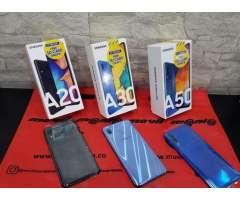 Samsung A30 de 64Gb más MicroSD nuevos con garantía de 1 año domicilios en...