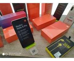 Xiaomi Redmi Note 6 Pro 4y64gb Vidrio