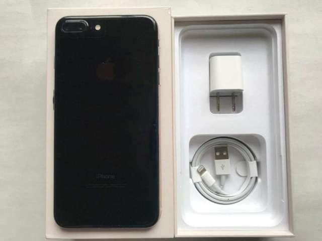 iPhone 7 Plus 256Gb Jet Black Libre Excelente Estado