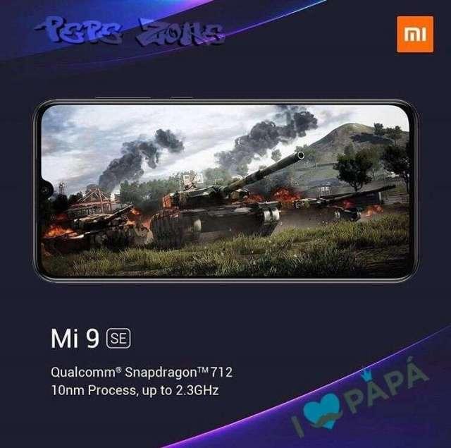 Celular Xiaomi Mi 9 se color negro