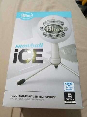 micrófono BLUE SNOWICE
