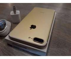 iPhone 7 Plus de 32gb Gold Como Nuevo