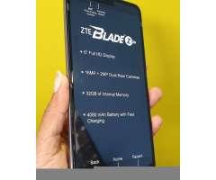 ZTE BLADE ZMAX Z982, 6 PULGADAS, 32GB, CAMARA 13MP, LECTOR DE HUELLA