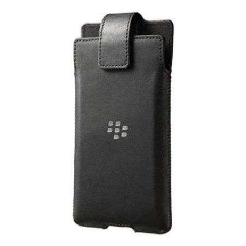 Estuche ORIGINAL de cuero Para Blackberry Priv