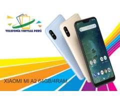XIAOMI MIA 2 64GB/4RAM NUEVO CÓMODO SELLADO SOMOS TELEFONIA VIRTUAL PERU