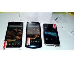 Celulares Sony Ericsson Xperia
