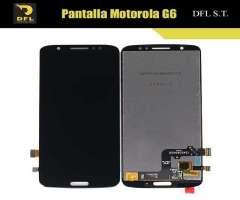 Pantalla Motorola G6 instalación incluida en Tienda Surco