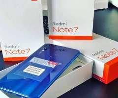Xiaomi Redmi Note 7 128gb Sellados Garantía 1 año