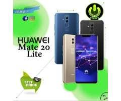 Huawei Mate 20 lite 64 Gb 4 Camaras / Tienda física Centro de Trujillo / Celul...
