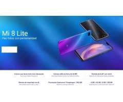 Xiaomi Mi 8 Lite 128gb Original Caja Sellada Garantía