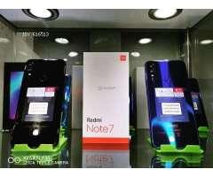 Celulares Xiaomi: Note 7, Redmi 7, Mi 9, Mi 9T, Mi 9SE