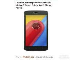 Smartphone Motorola MOTO C 16GB 4G
