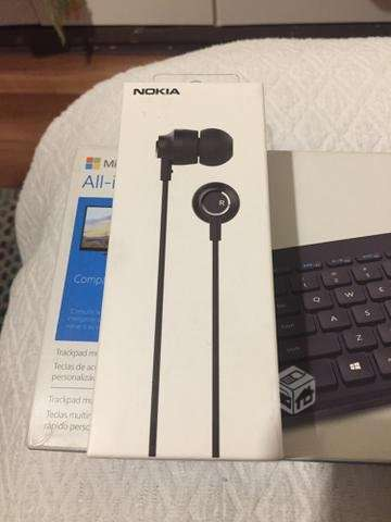Audifonos Nokia manos libres metálicos 10.000 - La Florida