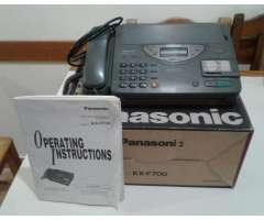 Telefono y Fax Panasonic modelo KXF700