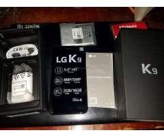 Vendo LG K9 en su caja totalmente nuevo
