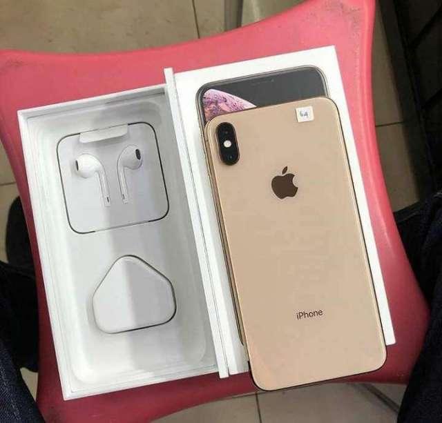 iPhone xs mas factory 256gb