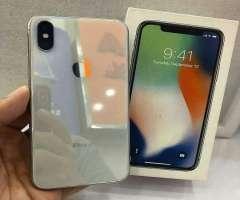 iphone x 64gb factory. blanco