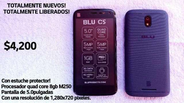 Blu C5 Edición Limitada Totalmente Nuevo