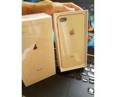 IPHONE 8 plus 64GB dorado, rojo negro blanco