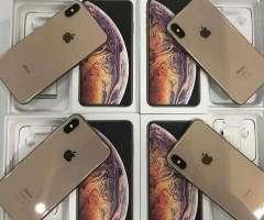 iphone xs mas factory 256gb gold