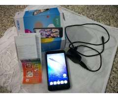 Celular alcatel pixi 4, libre todas las companias en caja con manual