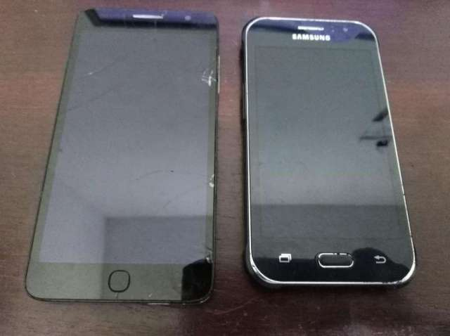 Vendo Cel Alcatel y SamsungPara Cambiar Display