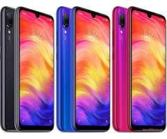 XIAOMI REDMI NOTE 7 GLOBAL 4G LTE 64 y 32 GB 48MP 2019 SELLADOS NUEVOS AUDIFONO Y VIDRIO GRATIS