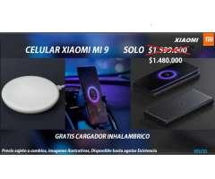 Xiaomi Mi 9 Camara 48mpx 4g Lte 128gb, Nuevo TIENDA FISICA, INCLUYE CARGADOR INALÁMBRICO