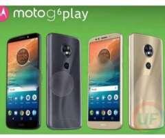Vendo Moto G6 Play Impecable en Caja