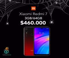 Xiaomi redmi 7 3Gb/64G , somos TIENDA FISICA, nuevos, sellados, originales, Garantí...