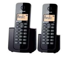 Teléfono Inalámbrico Panasonic Kxtgb112 Con Dos Auriculares