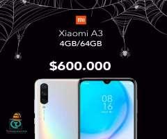 Xiaomi A3 4GB/64GB, Nuevo, sellado, Garantia, Factura, TIENDA FISICA.