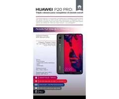 Vendo Huawei P 20 Pro