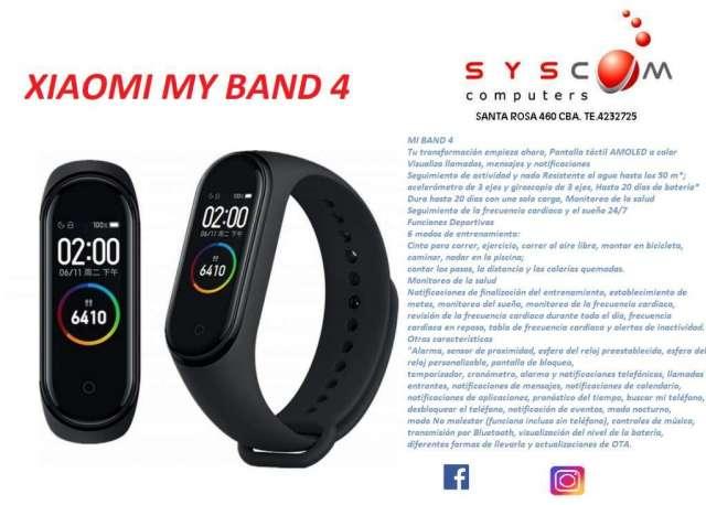 reloj xiaomi my band 4