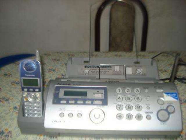 Fax Con Telefono Inhalambrico Panasonic Kxfg2853ag Impecabl