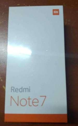 XIAOMI REDMI NOTE 7 NUEVO SELLADO 48MPX,4GB RAM  REGALO