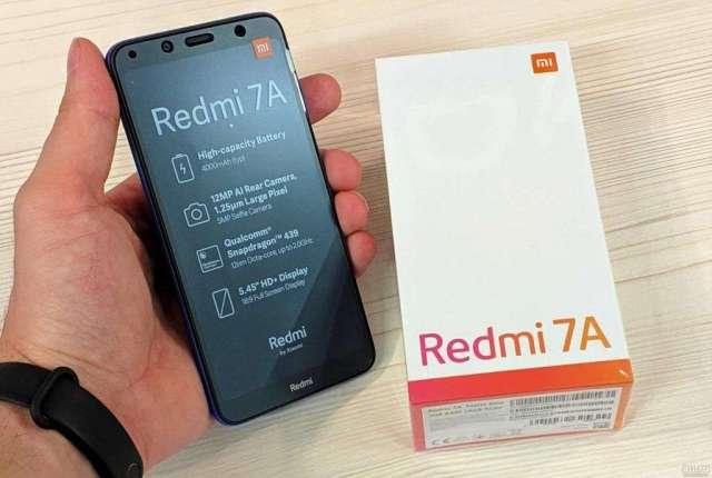 XIAOMI REDMI 7A 32 GB NUEVO/ SELLADO/ SOMOS ALL MOBILES