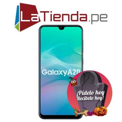 Samsung Galaxy A20 - Cámara para selfies de 8 MP