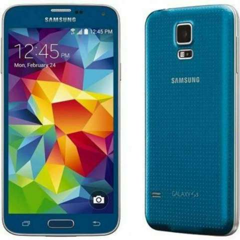 Remato Vendo Samsung S5 Mini Azul a 119